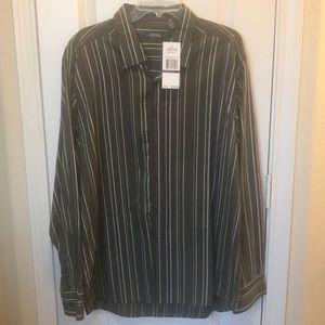Striped Buttoned Down Dress Shirt